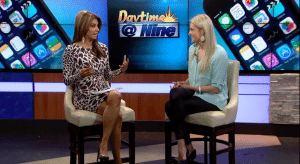 Kelly Wonderlin DayTime at Nine with Kimberly Crawford