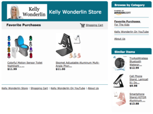 KELLY WONDERLIN STORE