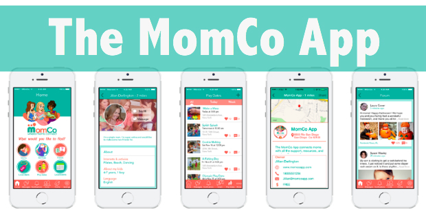 An Interview With Jillian Darlington, Founder Of The MomCo App