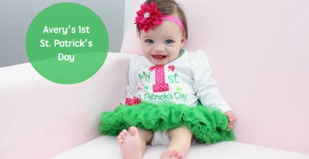 Avery's 1st St. Patrick's Day
