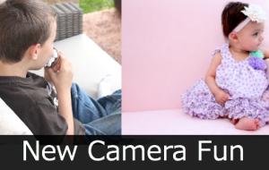 New Camera Fun