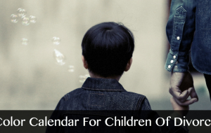 Color Calendar For Children Of Divorce